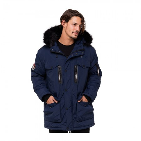 Canadian Peak ANIDO - Parka Homme navy