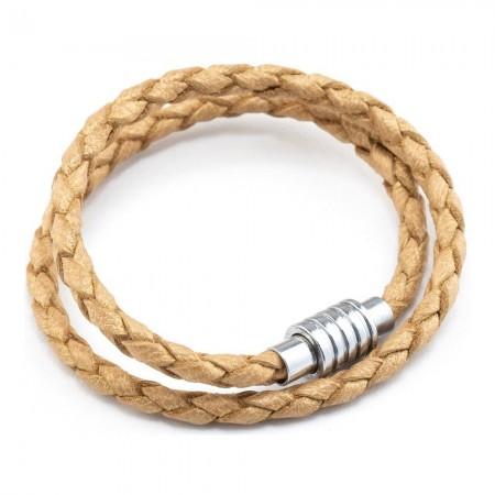 Bracelet Cuir - Cangurione - Sand Beige - DD-12
