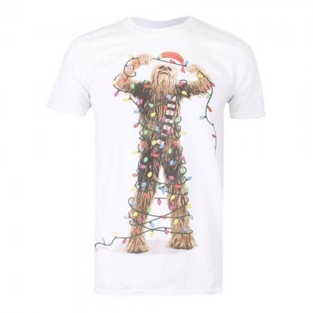 T-shirt - Star Wars - Chewbacca Lights - White - FBMTS211WHT