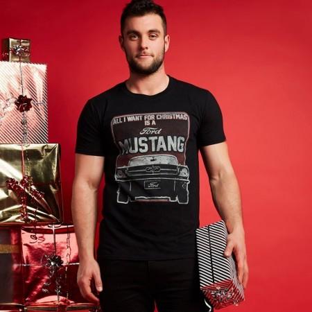 T-shirt - Ford - All I Want - Black - POMTS167BLK