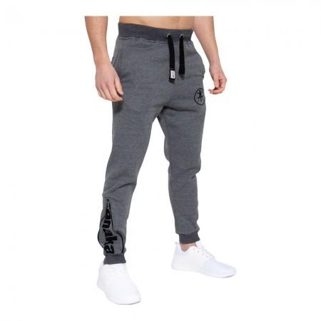 Pantalon de jogging - Akito Tanaka - Anthrazit / Weiß - AT43-802
