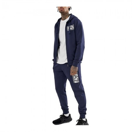 Ensemble sweat zippé & jogging - Navy - 3GPV62-PJ05Z-1993