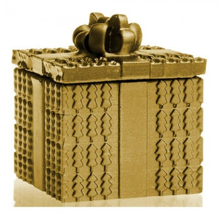 Bougie Parfumée Christmass Gift - Classic Gold-Orient Wood Scent