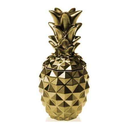 Bougie Parfumée Pineapple - Classic Gold-Orient Wood Scent