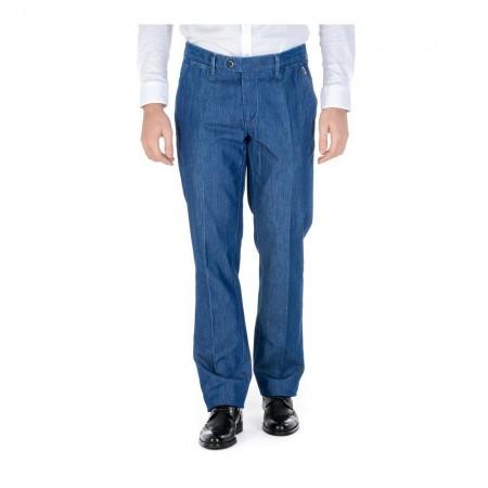 Pantalon CORNELIANI - Bleu - 458472