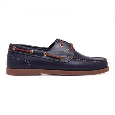 Chaussures bateau - Bleu marine - C103100-MRN