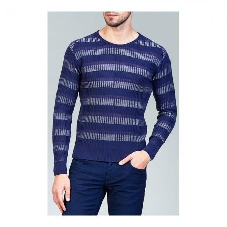 Pull - bleu marine - A82Y501911
