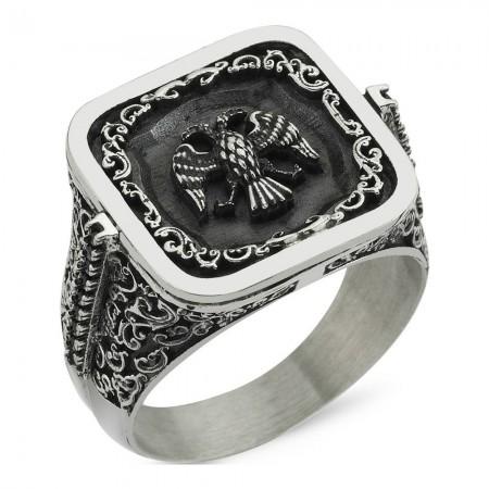 Bague - Black Silver - Argent - BLK-Y135