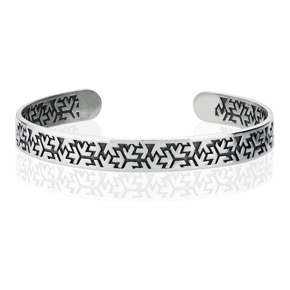Bracelet - Black Silver - Argent 925 - BLK-BLZ112