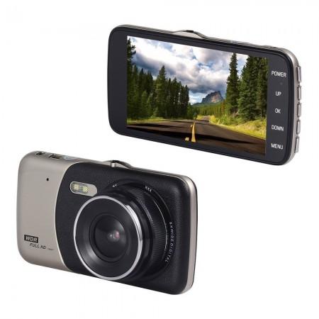 """Caméra embarqué pour voiture Full HD 1080p écran 4.0""""- noir - GP289"""