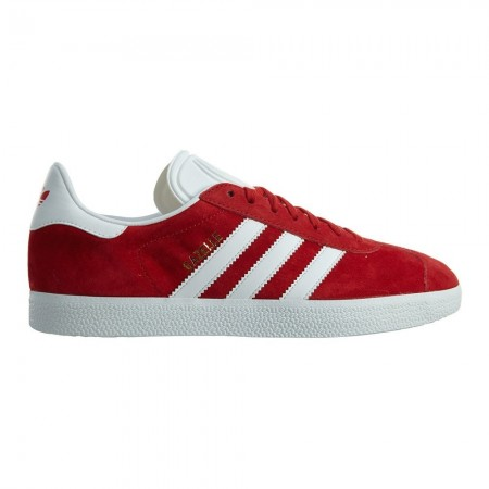 Adidas GAZELLE S76228 - Sneakers Homme red/white
