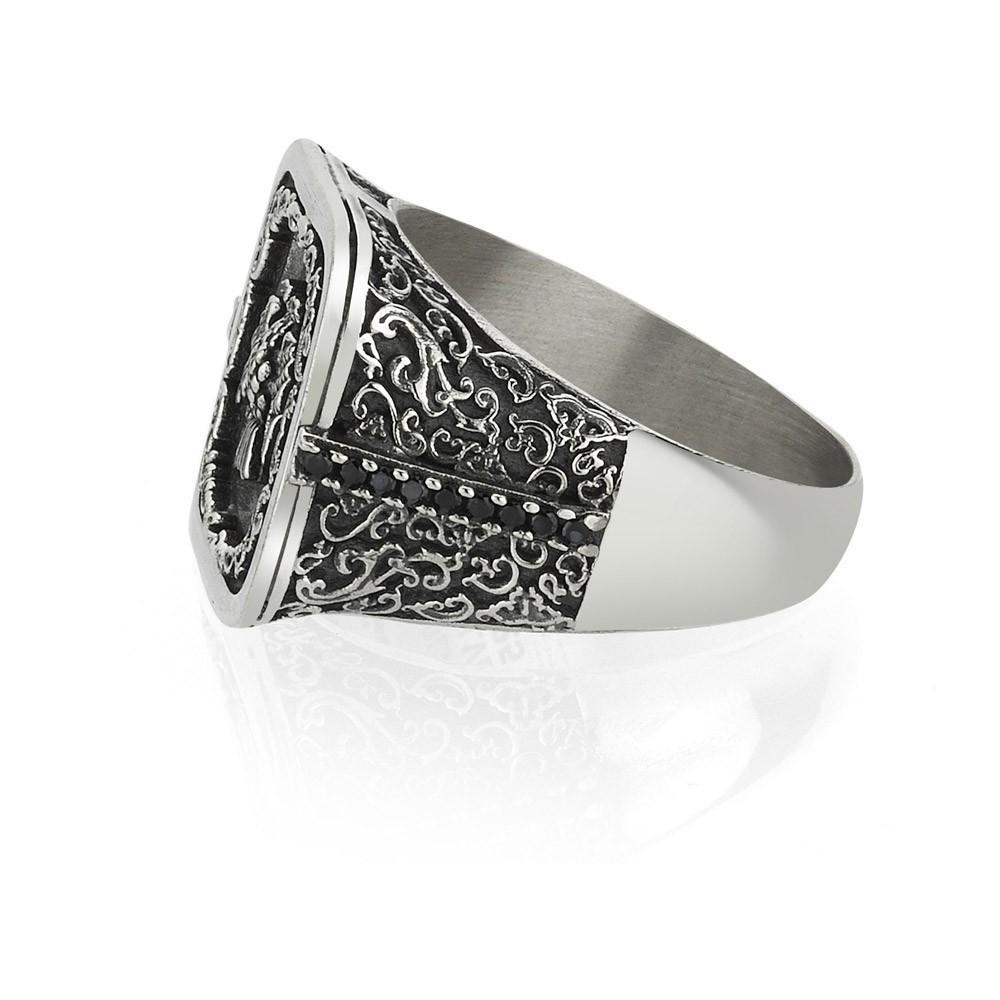 Bague - Black Silver - Argent 925 - BLK-Y135
