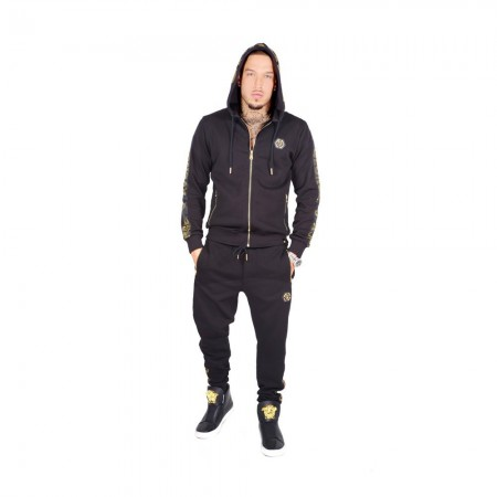 Sweatshirt - Avenue George V - GV1012 - Black-Gold