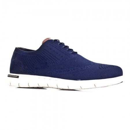 Chaussures - Navy Blue Triko - Cuir - 9YEA07AY258E70