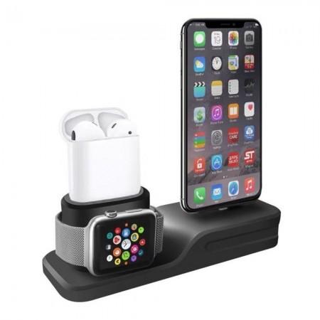Apple ACC87 - Socle de chargement 3 en 1 black