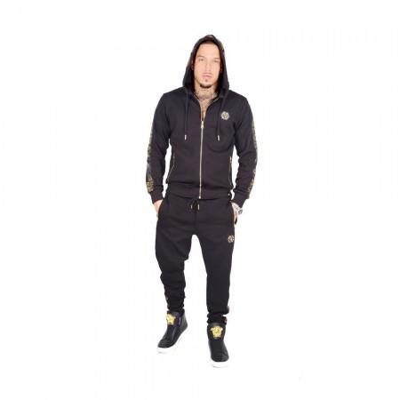 Sweatshirt - Avenue George V - GV1012 - Black - Gold