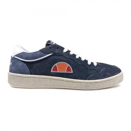 Sneakers ELLESSE Cuir Logo Brodé - El82441 H - 04 Deep Sky