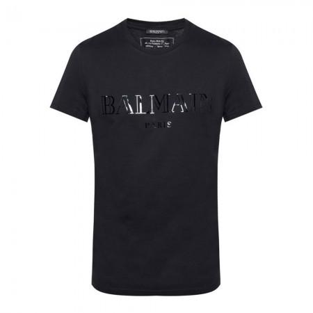 T-shirt - Balmain - Noir - W8H8601