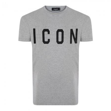 Tee shirt coton Dsquared2 Gris - Ds993329