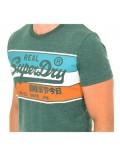 T-shirt MC - SUPERDRY - Vert - M1000060B-R6T