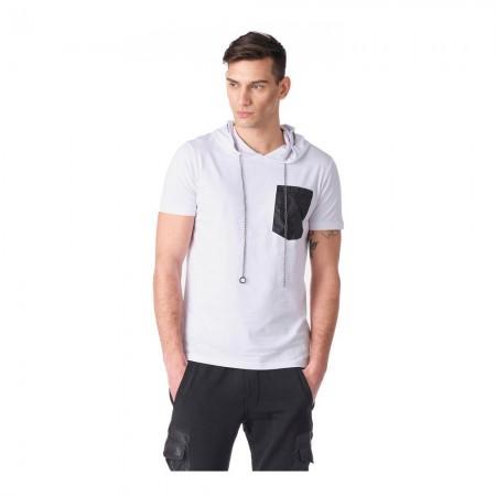 T-shirt - White - 8117