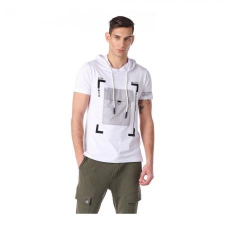 T-shirt - White - 8120
