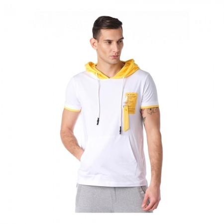 T-shirt - White Yellow - 8121