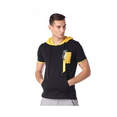 T-shirt - Black Yellow - 8121