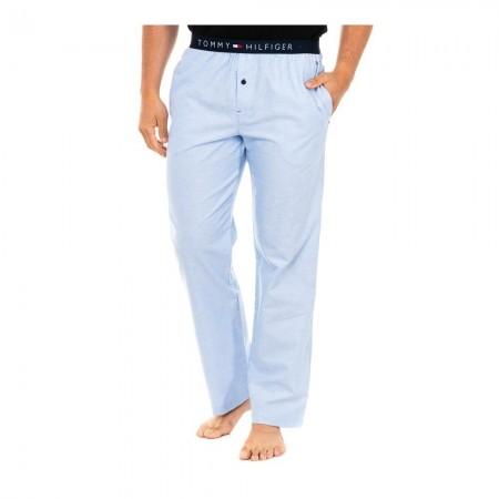 Pantalon Pyjama - TOMMY HILFIGER - Bleu Ciel - UM0UM00220-421