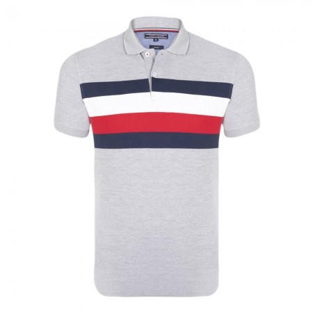Polo - TOMMY HILFIGER - Gray - MW0MW06178