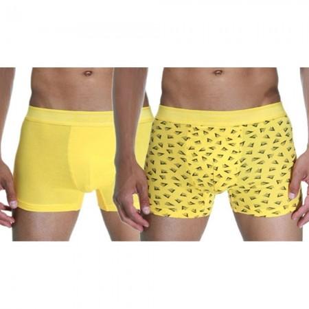 Lot de 2 Boxers - Yellow - Darkzone - DZN8039SR