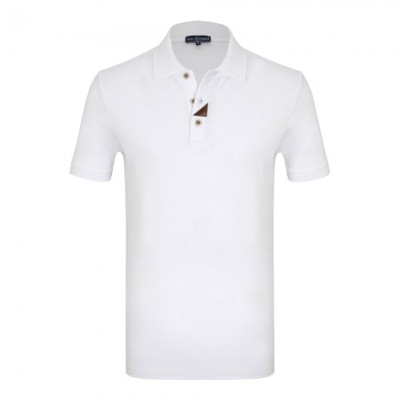 Polo - Paul Parker - White - PA395603