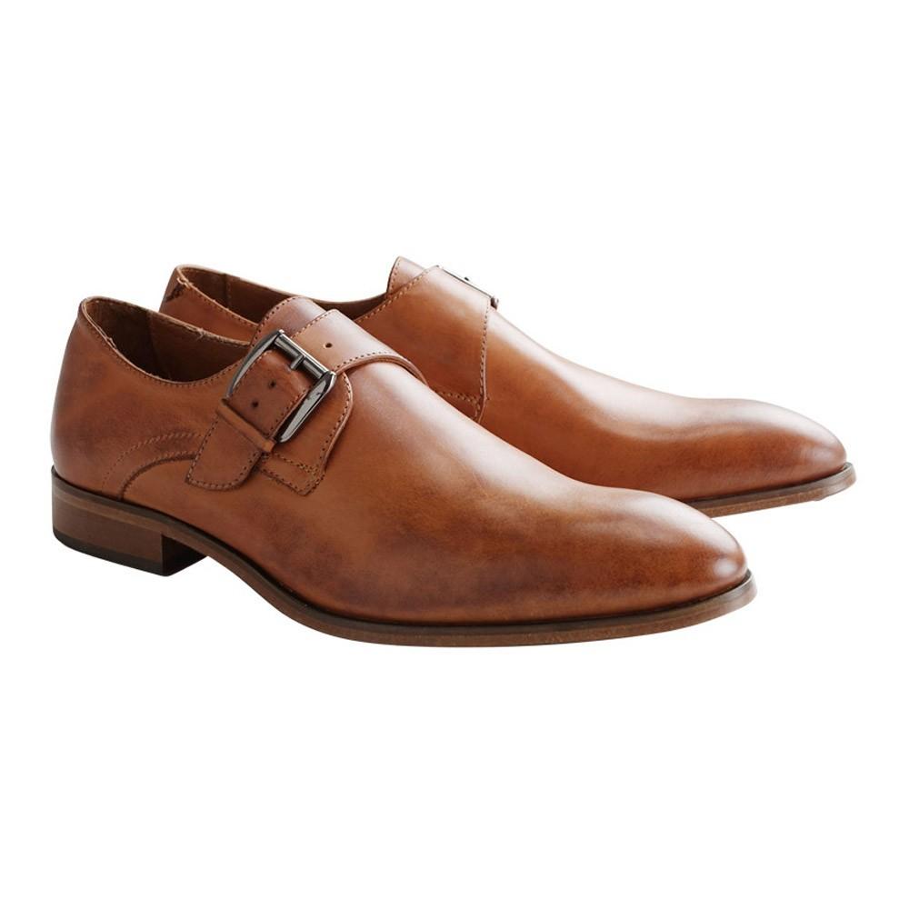 Chaussures DenBroeck -Liberty St. Leather Cognac