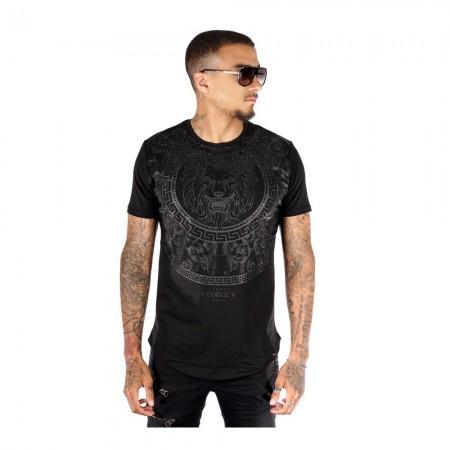 T-shirt AVENUE GEORGE V  - Black - GV2007