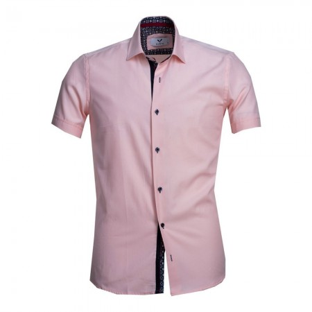 Chemise - Solid Light Pink - Celino - CESS7999