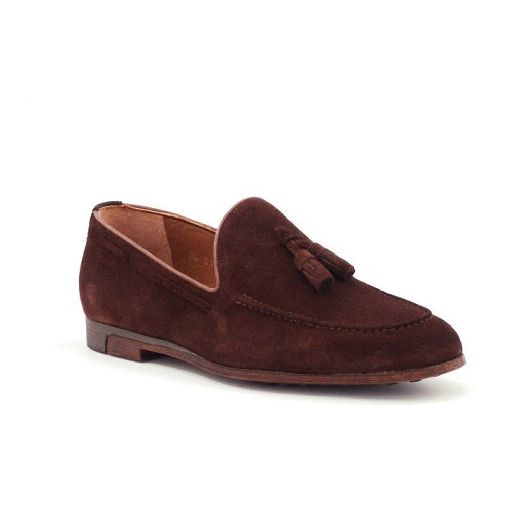 Loafers - Step By Step - Brown Suede - 034E9136