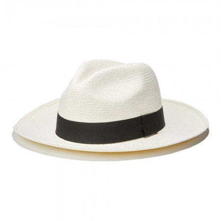 Chapeau - Classic Panama Hat in White - White