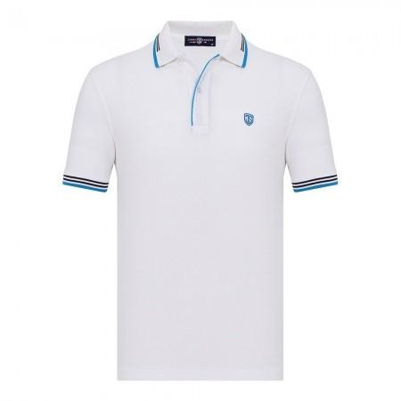 Polo - Jimmy Sanders - White - PLM1033
