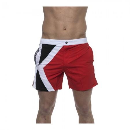 Short de bain mi-long - Red - Karl Lagerfeld - KL19MBM02