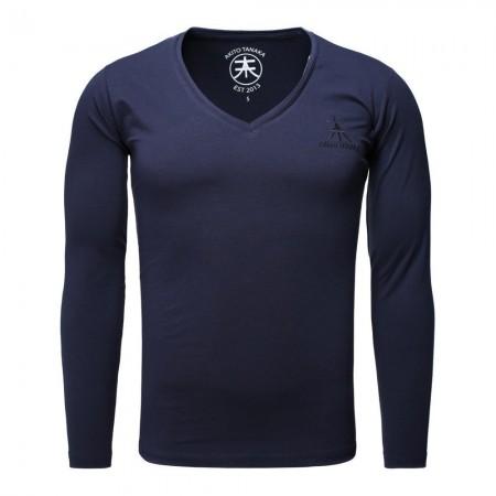 T-shirt à manches longues - Bleu Marine - 305