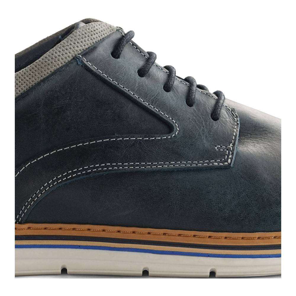 Chaussures Travelin' Kempsey Leather - Blue