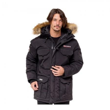 Veste à capuche homme ALPES black
