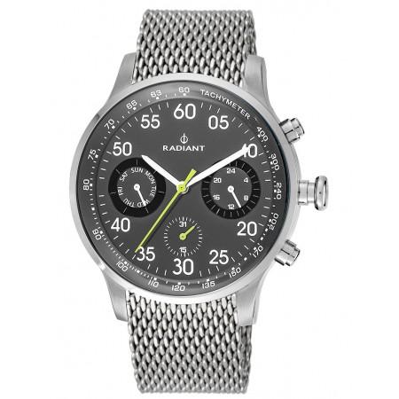 Montre Analogique - Silver/Gray - Bracelet Acier Silver - RA444604