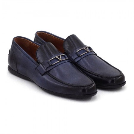 Loafers - Step By Step - Navy Blue - 034E92604