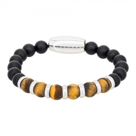 "Bracelet "" Yellow Tiger Eye"" - RA10905NMA"