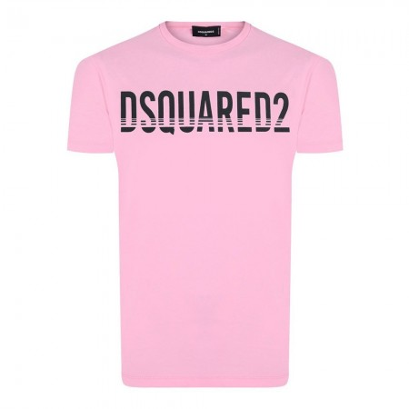 Tee shirt coton Dsquared2 Rose - Ds4098617