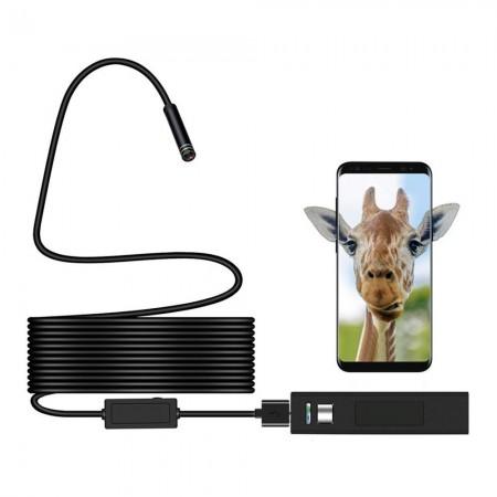 Caméra endoscopique Wifi 1200p IP68 10m - CAM040