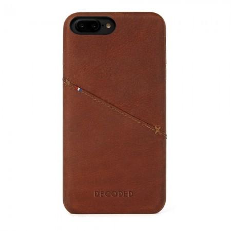 Étui - Decoded - Apple iPhone 6+ / 6S+ / 7+ / 8+ - Marron - 121