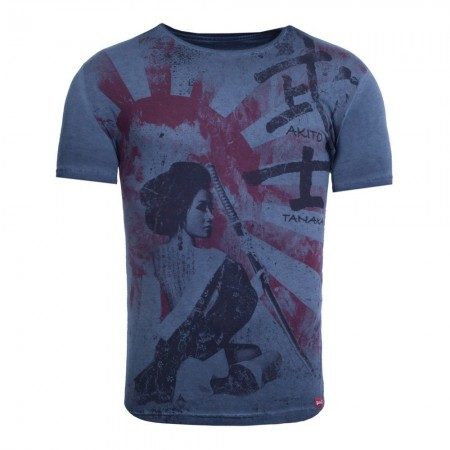 T-shirt - Bleu Marine - AT-1068