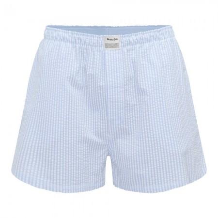 Bas de pyjama - Rayures bleues - Resteröds - 7997-41-25
